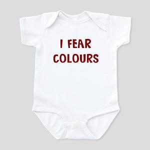 I Fear COLOURS Infant Bodysuit