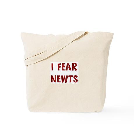 I Fear NEWTS Tote Bag