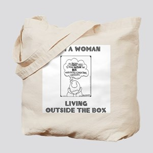 Dual Message Tote Bag
