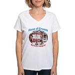 House of Crosses, Chicago Women's V-Neck T-Shirt