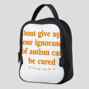 Autism teacher Neoprene Lunch Bag