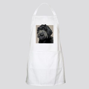 Black Russian Terrier BBQ Apron