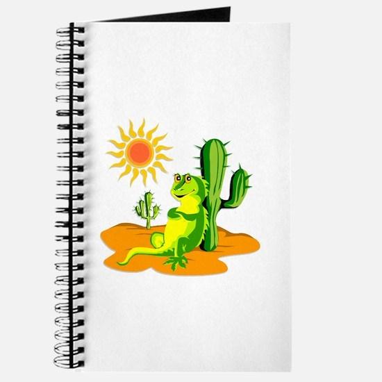 Cactus in the Desert Iguana Journal