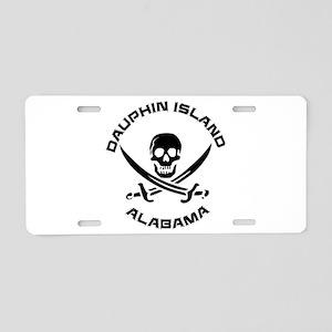 Alabama - Dauphin Island Aluminum License Plate
