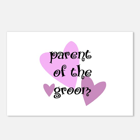 Parent of the Groom Postcards (Package of 8)