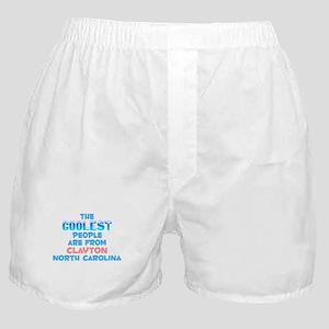 Coolest: Clayton, NC Boxer Shorts