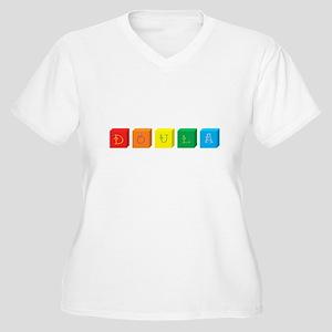 Doula Women's Plus Size V-Neck T-Shirt