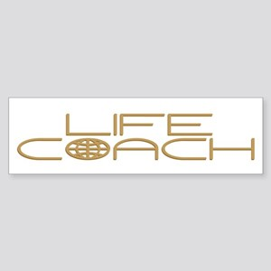 World: Life Coach Bumper Sticker