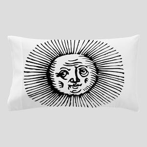 Old Sun - Blk Pillow Case