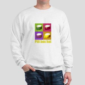 Pill box hat Sweatshirt