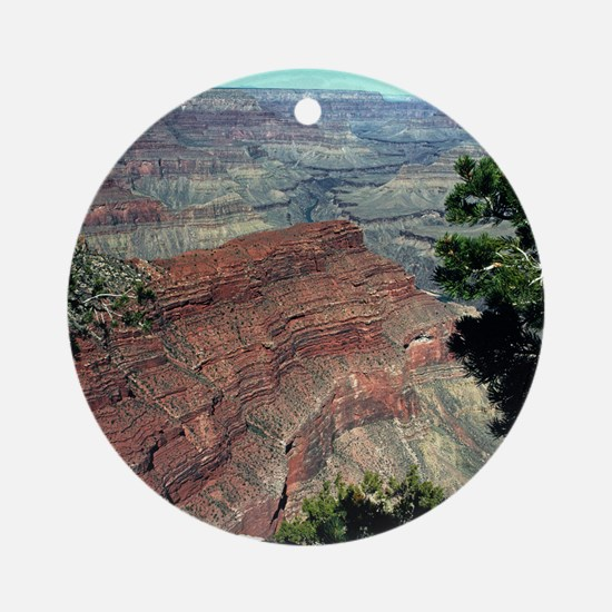 Grand Canyon Red Rock Ornament (Round)