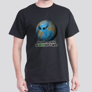 Environmental Face Dark T-Shirt