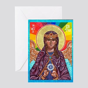 St. Sophia Card Greeting Cards