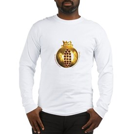Aphrodisiac Golden Pomegranate Long Sleeve T-Shirt