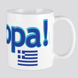 greek flag opa1 Mugs