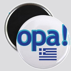 Greek Flag Opa1 Magnets