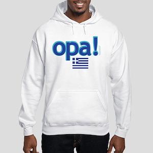 greek flag opa1 Sweatshirt