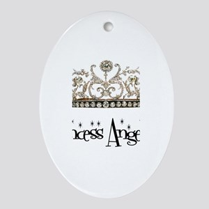 Princess Angelica Oval Ornament