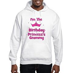 1st Birthday Princess's Gramm Hoodie