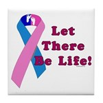 Let There Be Life Tile Coaster
