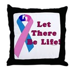 Let There Be Life Throw Pillow