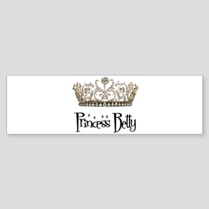 Princess Betty Bumper Sticker