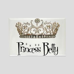 Princess Betty Rectangle Magnet