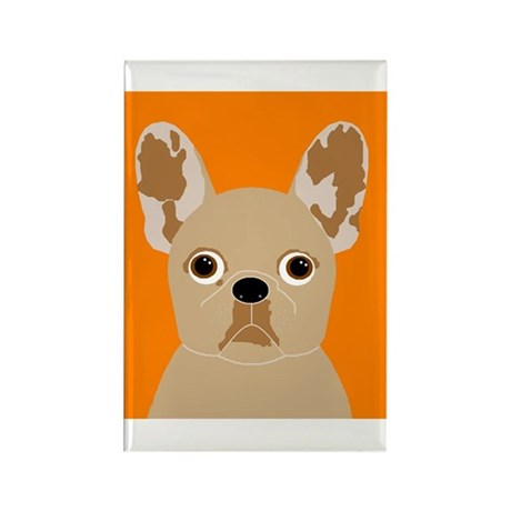 Frenchy (Fawn) Rectangle Magnet