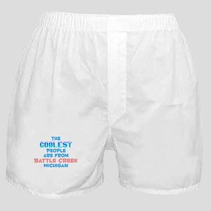 Coolest: Battle Creek, MI Boxer Shorts