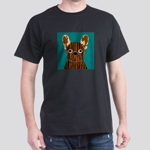 Frenchy (Brindle) Dark T-Shirt