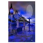 Moon Gods Large Poster