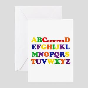 Cameron - Alphabet Greeting Card