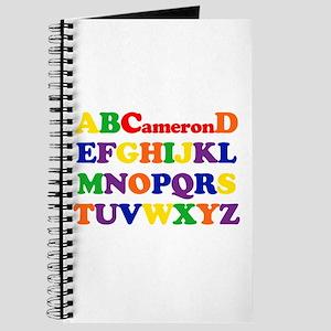 Cameron - Alphabet Journal