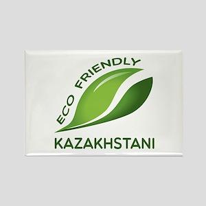 Eco Friendly Kazakhstani County D Rectangle Magnet