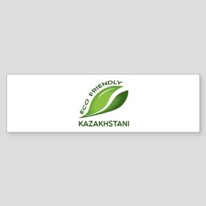 Eco Friendly Kazakhstani County D Sticker (Bumper)