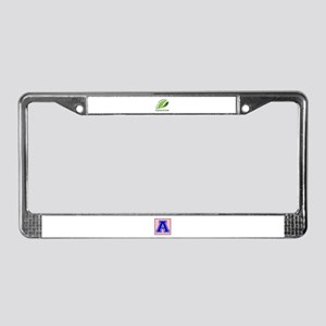 Eco Friendly Kazakhstani Count License Plate Frame