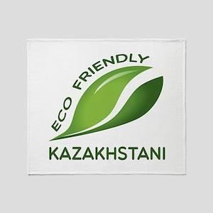 Eco Friendly Kazakhstani County Desi Throw Blanket