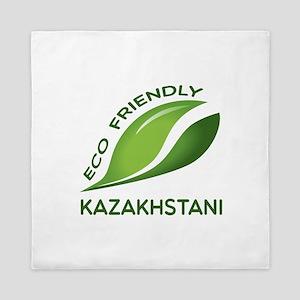 Eco Friendly Kazakhstani County Design Queen Duvet