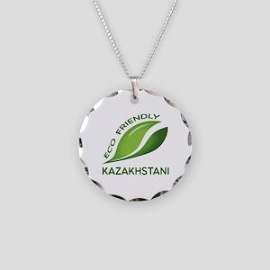 Eco Friendly Kazakhstani Cou Necklace Circle Charm
