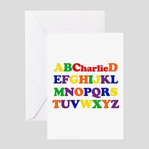 Charlie - Alphabet Greeting Card