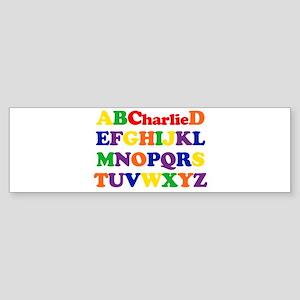 Charlie - Alphabet Bumper Sticker