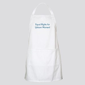 Equal Rights for Unborn Women BBQ Apron