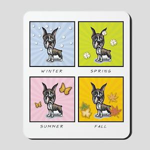 4 Seasons Boxer Mousepad