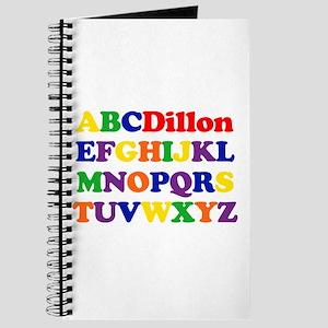 Dillon - Alphabet Journal