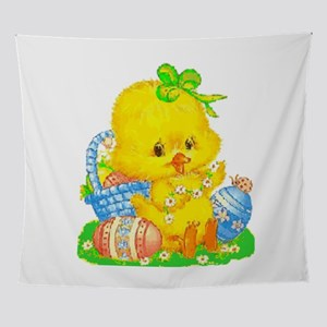 Vintage Cute Easter Duckling and Easter Egg Wall T