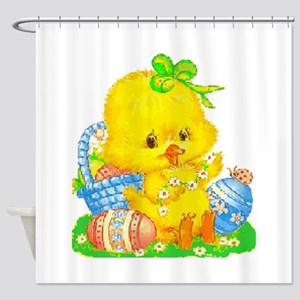 Vintage Cute Easter Duckling and Easter Egg Shower