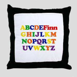 Finn - Alphabet Throw Pillow