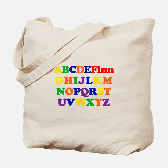 Finn - Alphabet Tote Bag