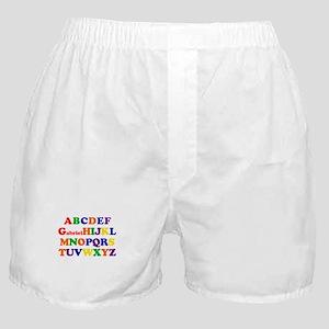 Gabriel - Alphabet Boxer Shorts