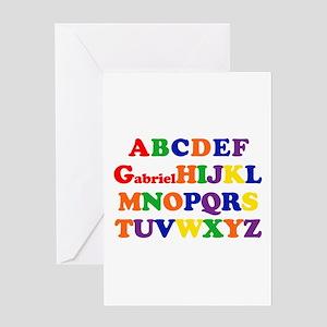 Gabriel - Alphabet Greeting Card